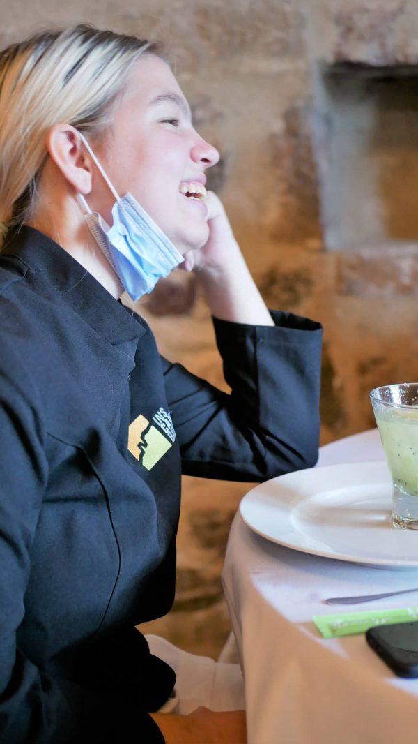 El restaurant, un espai amb encant on dinar o sopar.